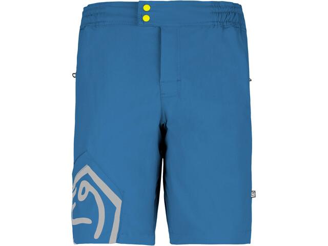 E9 Wet Shorts with Chalk Bag Herre cobalt blue